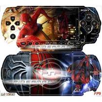 Homem Aranha Skin P/ Sony Psp Fat / I.s Tech *frete Gratis*