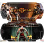 God Of War Skin P/ Sony Psp Fat / Is Tech Skin Frete Gratis