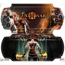 God Of War Skin P Sony Psp Slim / Is Tech Skin Frete Gratis