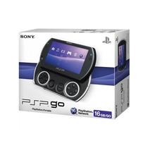 Psp Go Sony 16 Gb Preto Com Jogos Na Memória Novo Na Caixa