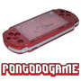 Carcaça Sony Psp Slim 3000 Vermelha