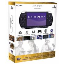 Sony Psp Slim 3001 Bivolt Desbloqueado Cartão 16gb + Brindes