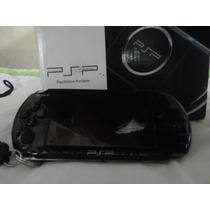 Sony Psp Slim 3010 Desbloqueado 16gb Capa 45 Jogos + Brindes