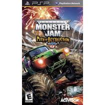 Monster Jam Path Of Destruction - Psp - Black Label