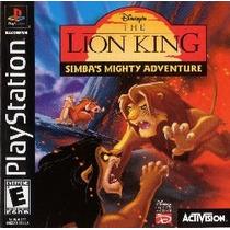 Disney¿s The Lion King Simba Patch -psp- E Ps1 E Ps2 E Pc