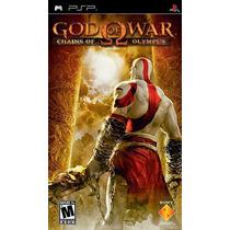 Jogo God Of War Chains Of Olympus Psp Sony Seminovo Sem Capa
