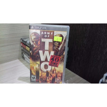 Jogo Army Of Two The 40th Day Psp (original)