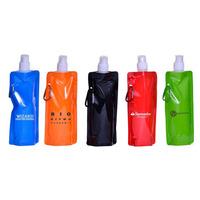 100 Squeezes Personalizados Com Sua Logo, Squeeze Dobravel