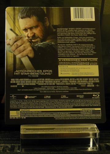 Steelbook Blu Ray Robin Hood Lacrado Legendas Português