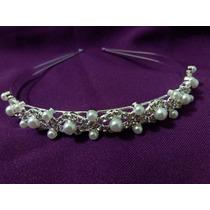 Tiara Coroa Arranjo Para Cabelo Noiva Noivado Debutante