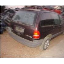 Chrysler Caravan Lx V6 3.8 1999 - Sucata Motor/caixa/lataria