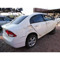 Honda Civic Lxs Flex 2009 Branco - Sucata Nextel 833*493