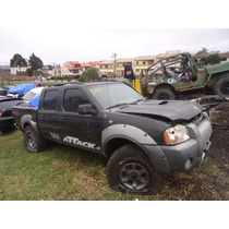Sucata Peças Nissan Frontier Xe Attack 2.8 4x4 Diesel 06/07