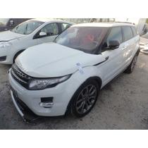 Sucata Land Rover Evoque Dynamique 2013 Pra Retirada De Peça