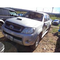 Sucata Peças Hilux Srv 3.0 4x4 Diesel 2010/2011