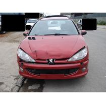 Peugeot 206 Ano 06 1.4 16v Flex Sucata Para Venda De Peças
