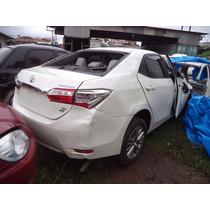 Sucata Toyota Corolla 2015 Gli (somente Em Peças)