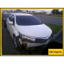 Sucata Corolla 2015 Para Retirar Peças Motor/porta/radas/