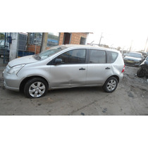 Nissan Livina 2012 Lataria/mecânica/vidro/acessórios