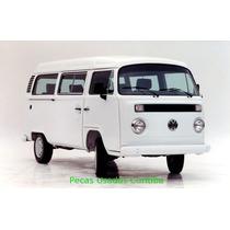 Vw Kombi - Sucata Motor/caixa/lataria/radio/roda