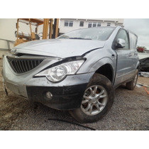 Carros Batidos Sucata Ssang Yong Actyon 2.3 16v