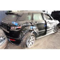Range Rover Evoque Dynamic 2013 Sucata Inteira