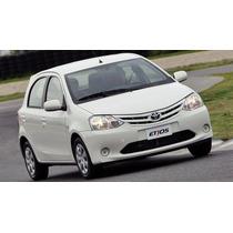 Toyota Etios 1.3 Mec. 2014 Sucata Para Retirada De Peças