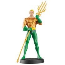 Boneco Miniatura - Aquaman Dc Comics - Eaglemoss + Revista