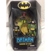 Set Batman And Robin Vs Poison Ivy - Garden Of Evil - Hasbro