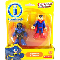 Dc Imaginext Superman & Darkseid Pronta Entrega