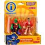 Imaginext Dc Super Friends Plastic Man & Martian Manhunter