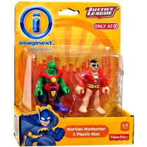 Imaginext Dc Super Friends Plastic Man & Martian Manhunter