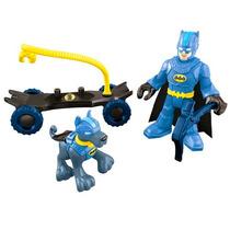 Dc Imaginext Mountain Batman & Ace Dog Gotham Collection