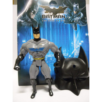 Boneco Batman Com Acessorios Mascara