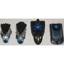 The Batman Lote Com 4 Mini Veículos Batmóvel Bat-moto