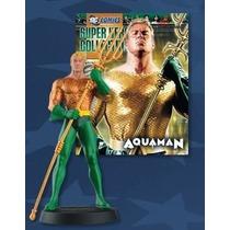 Miniatura Dc Aquaman Eaglemoss + Revista Brasil