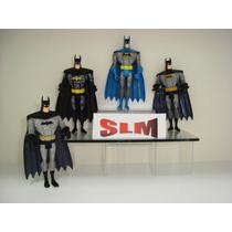 Batman Justiça League A Liga Da Justiça Jlu 4 Bonecos