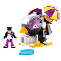 Dc Imaginext Super Friends Penguin Helicoptero Pinguim