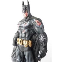 Boneco Batman Arkhan -machucado / Damage - Estátua Em Resina