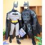 Batman De Pelúcia Marvel Super Herói Com Capa