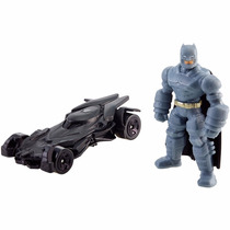 Batman E Batmóvel - A Origem Da Justiça Hot Wheels