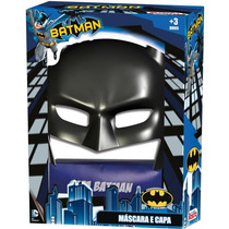 Mascara Capa Do Batman Novabrink