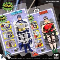 Batman E Robin - Classic 1966 - Retro - Figures - Dc Comics