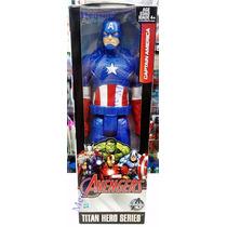 Capitão América Os Vingadores Básico Hasbro 28 Cm