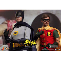 Hot Toys Batman 1966 Adam West + Robin 1966 Burt Ward