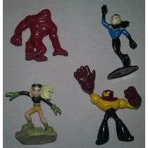 Jovens Titãs Teen Titans Minis Aqualad Terra Atlas E Plasmus