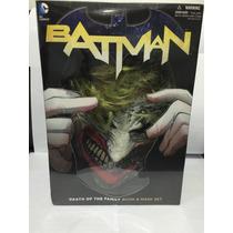 Batman - Livro E Máscara Do Coringa- Death Of The Family Dc