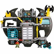 Imaginext Nova Batcaverna Dc Super Amigos Mattel