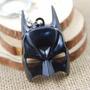 Chaveiro Batman Mascara Preta Em Metal Importado