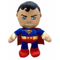 Boneco Super-homem Em Pelúcia Antialérgica 38 Cm Altura